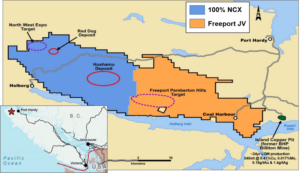 Overview of North Island Copper Gold Project